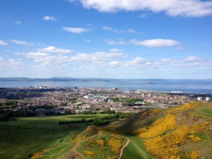 View from Arthur Seat