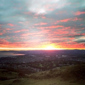 Sunrise Edinburgh