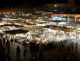 Shopping experience in Marrakech
