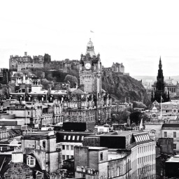 It's not just me. It's the city of Edinburgh