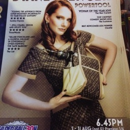 Diane Spencer's commedy at Fringe